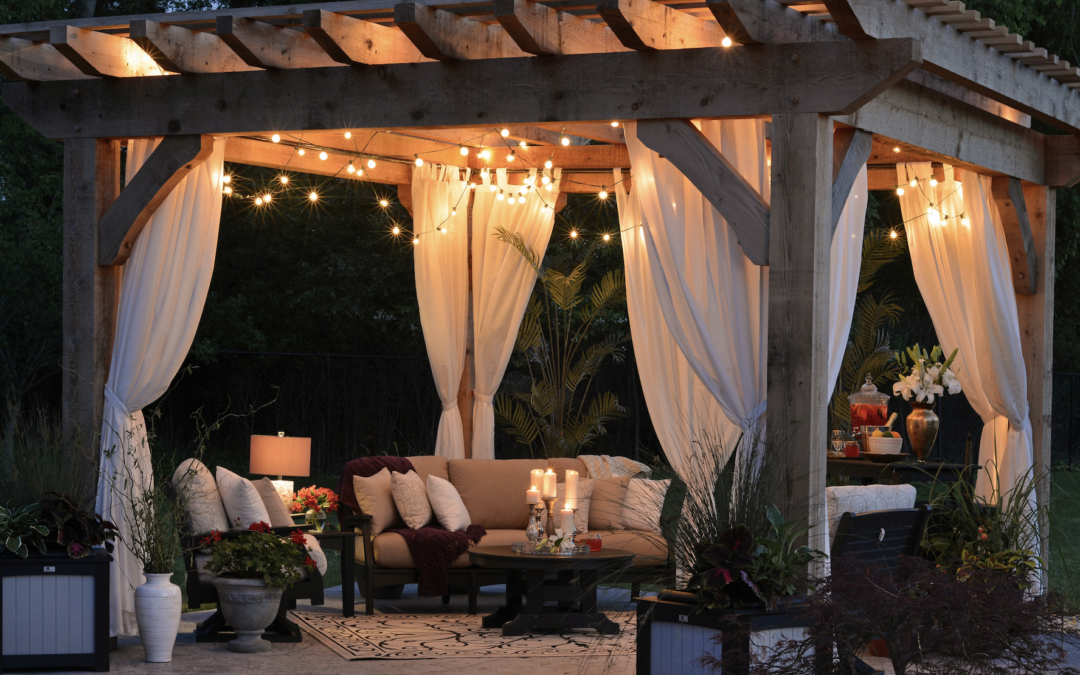 Extending the indoors out, with style and comfort